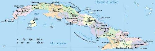 Carte Cuba Cayo Levisa.La Carte De Cuba