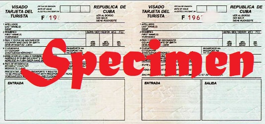 Carte De Tourisme Cuba Formulaire.Carte De Tourisme Cuba